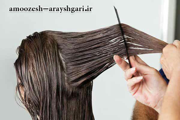 آموزش کوتاهی مو آموزشگاه آرایشگری زنانه