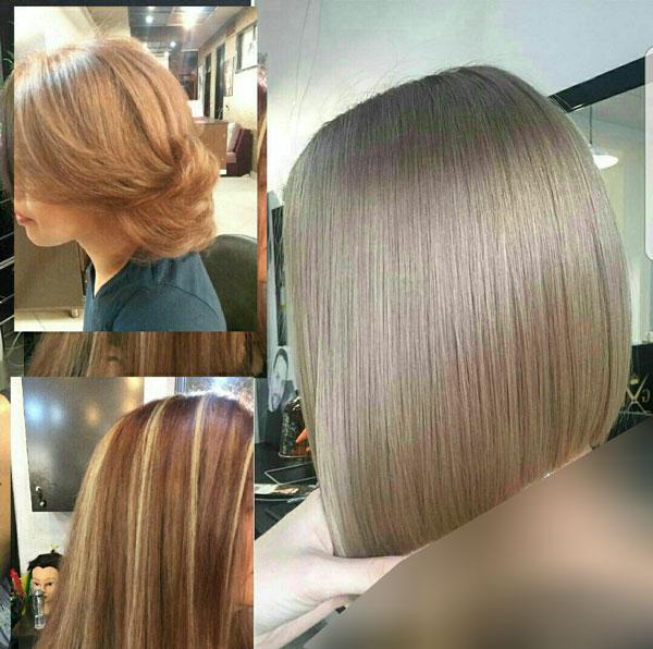 آموزش رنگ کردن مو با مدرک - آموزش رنگ و مش با مدرک - اموزش رنگ مو حرفه ای