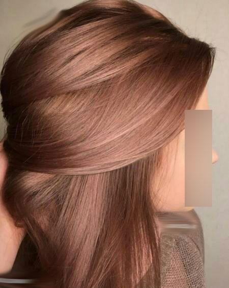 آموزش رنگ موی ترکیببی - آموزش رنگ مو آمبره - آموزش رنگ مو فانتزی - آموزش رنگ مو تخصصی