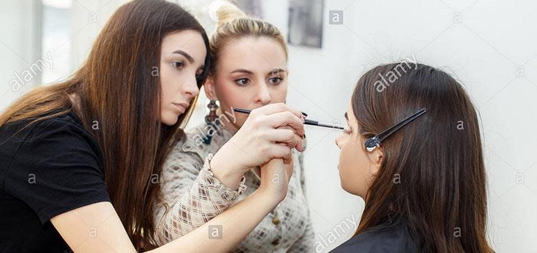 آموزشگاه ارایشگری زنانه ، بهترین اموزشگاه ارایشگری ، ثبت نام در آموزشگاه آرایشگری نارمک