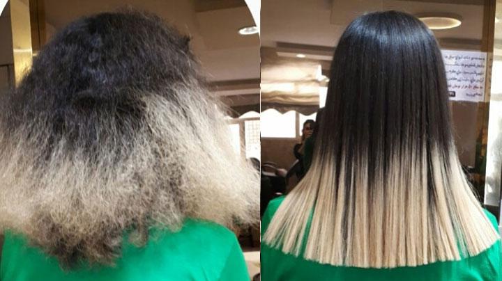 آموزشگاه آرایشگری و کراتینه مو در صادقیهآموزشگاه آرایشگری و کراتینه مو در صادقیه