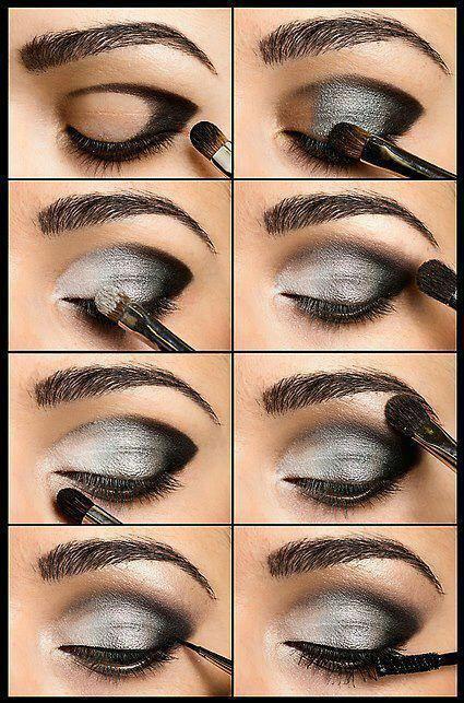 اموزش انواع آرایش های چشم