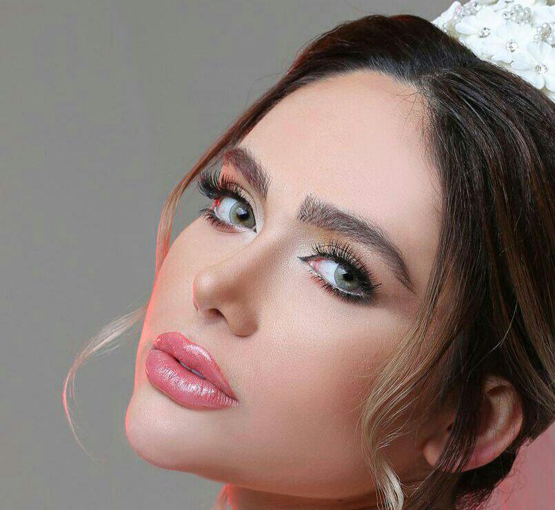 بهترین مدرس گریم عروس ، گریم خانم قاسم پور ، زیباترین عروس سال ، مدرس گریم عروس در تهران