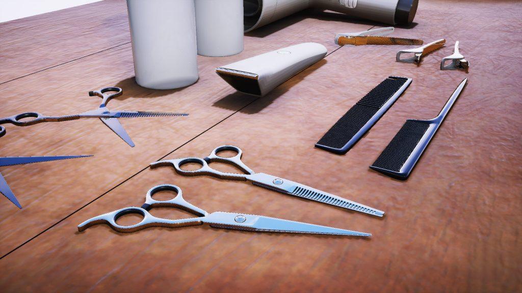 ابزار کوتاهی ، آموزش کوتاهی مو ، آموزشگاه آرایشگری ، کوتاهی مو تهران ، قیچی کوتاهی مو ، شانه ، شسوار موی کوتاه