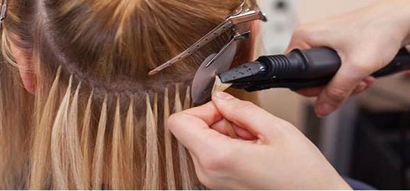 آموزش اکستنشن مو در آموزشگاه آرایشگری