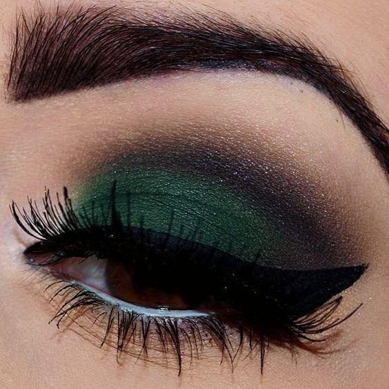 سایه چشم کله غازی ، سایه چشم سبز