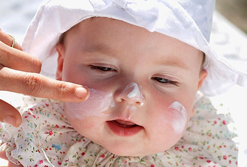 مراقبت از پوست نوزاد