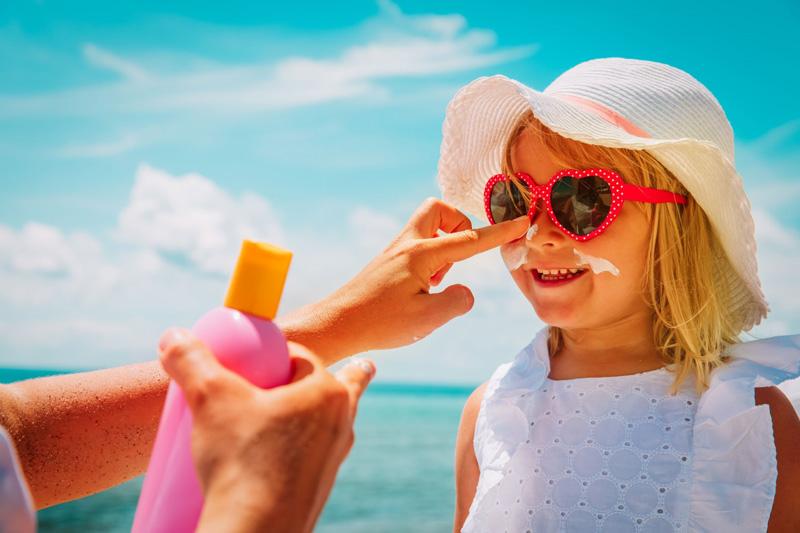 skincare مراقبت از پوست ضد آفتاب