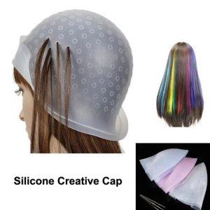مش مو با کلاه سیلیکونی ، مش موی با کلاه ، کلاه نایلونی مش