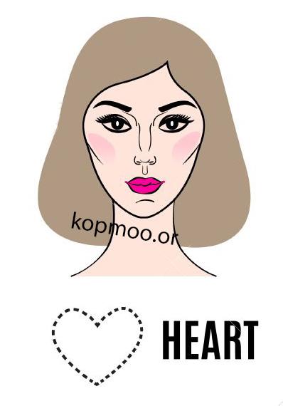 بهترین مدل کوتاهی موی زنانه برای صورت قلبی شکل