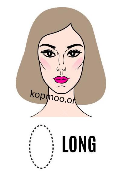 مدل موی کوتاه زنانه برای صورت های کشیده و لاغر