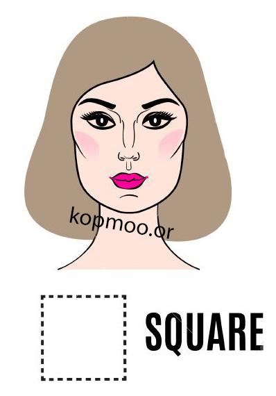 مدل کوتاهی مو زنانه برای صورت های مربعی مستطیلی