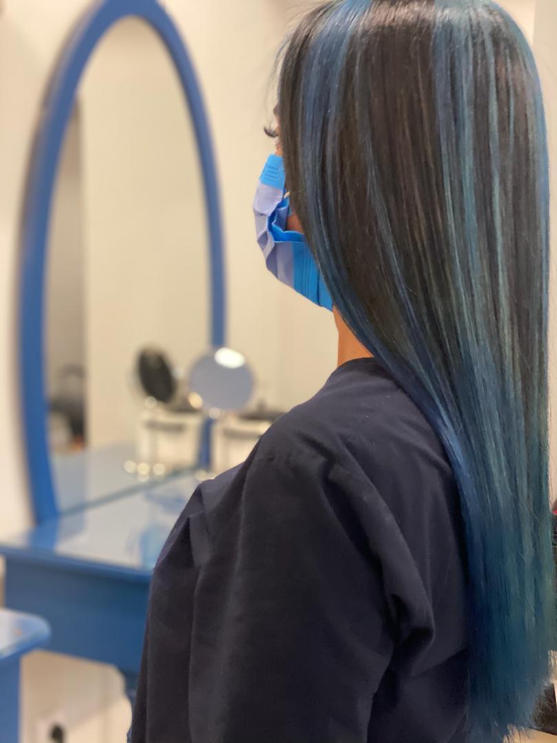 آمورش رنگ مو ، آموزشگاه رنگ و مش ، آموزشگاه جردن
