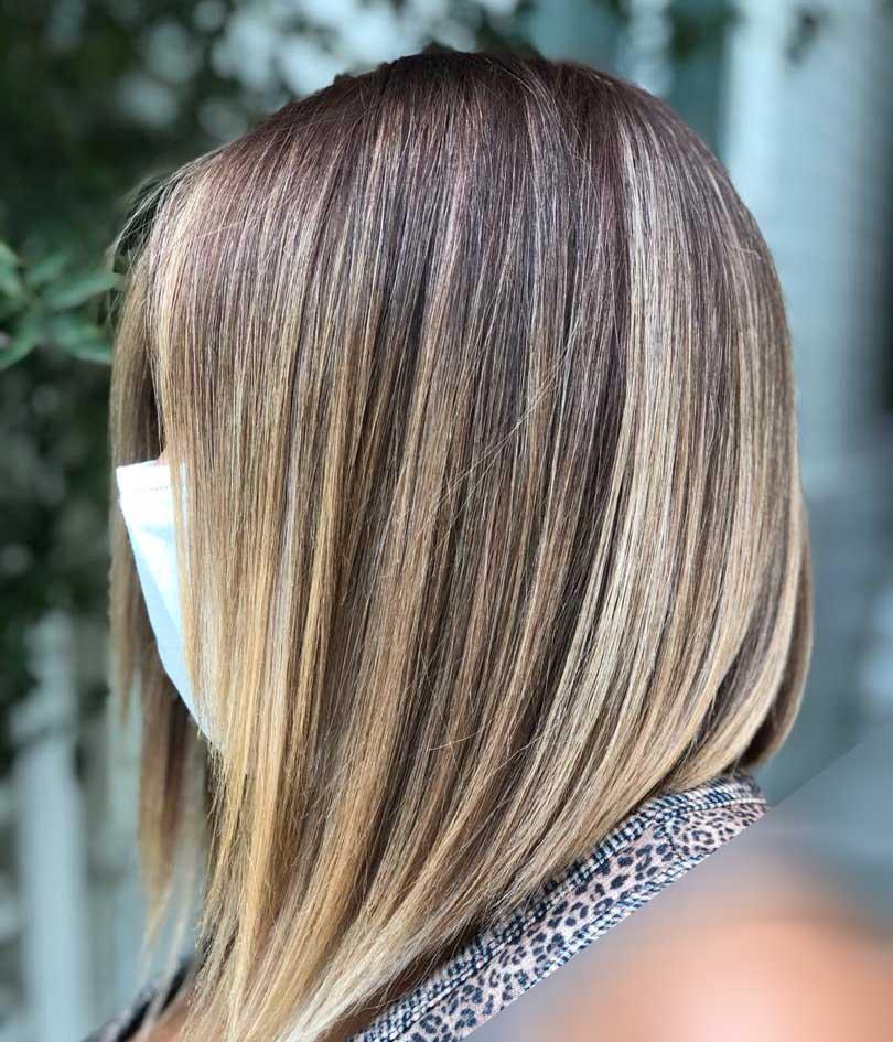 آموزش رنگ و مش با مدرک ، رنگ مو حرفه ای در جردن