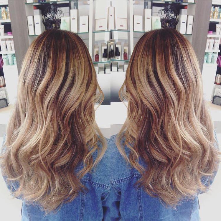 رنگ مو ، تکنیک بالیاژ ، اصطلاحات آرایشگری زنانه