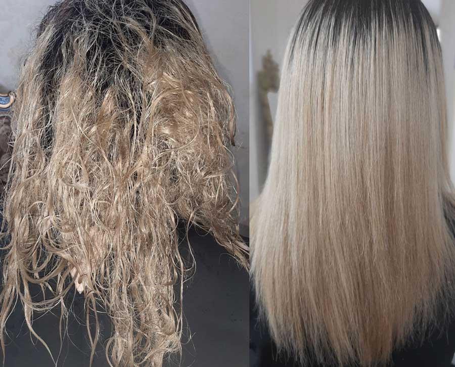 ارتباط کراتین مو با رشد مو ،صافی موی زنانه ، احیا موهای زنانه