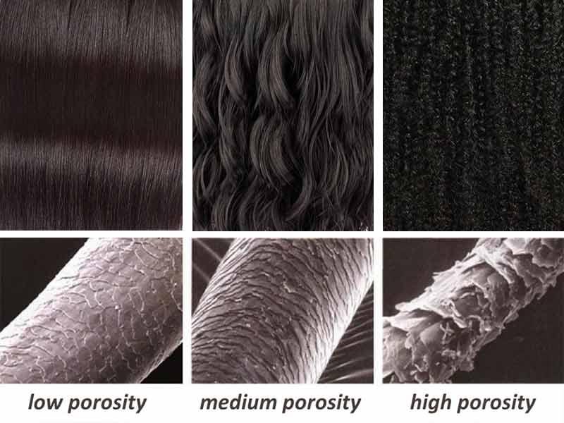 ترمیم موهای آسیب دیده ، کوتیکول انواع موهای فر صاف موج دار