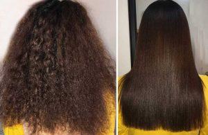 بوتاکس مو یا کراتینه برزیلی مو